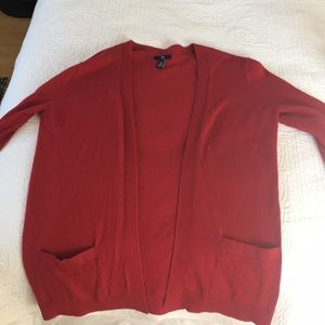 Red Gap cardigan, M
